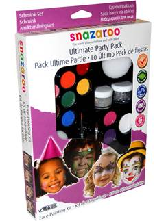 Snazaroo Party Face Paint Kit - 50 Faces