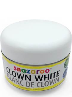 Snazaroo Clown White Face Paint - 50ml