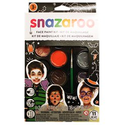 Snazaroo Halloween Face Paint Kit - 50 Faces