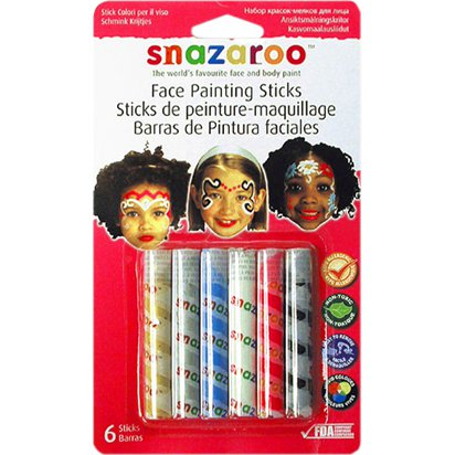 Snazaroo Girls Face Painting Sticks - Face Painting Kits front