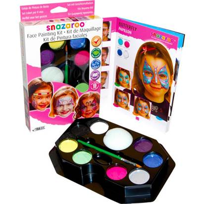 Snazaroo Girl Face Painting Kit - Face Painting Kits front