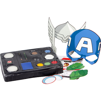 Avengers Face Paint Set front