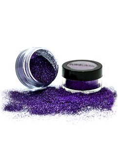Purple Glitter Shaker - 5g Pot