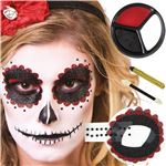 Day Of The Dead Make Up Kit  - Face Paints