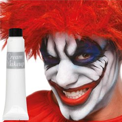 White Cream Make Up Tube - 28ml - Face Paint