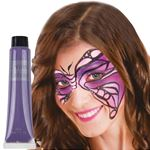 Purple Cream Make Up Tube - 28ml - Face Paint
