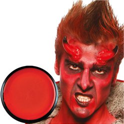 Red Face Paint Pot - 14g