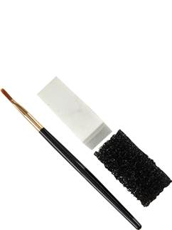 Applicator Set - sponge, stipple sponge & brush