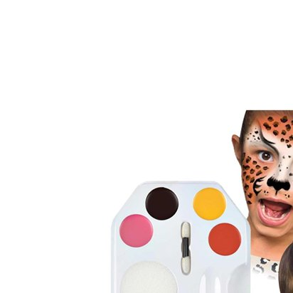 Wild Faces Face Painting Kit front