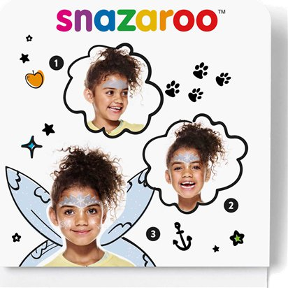 Snazaroo Ice Fairy Mini Face Paint Kit - Christmas Face Painting Kit front