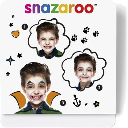 Snazaroo Vampire Mini Face Paint Kit - Halloween Face Painting Kit front
