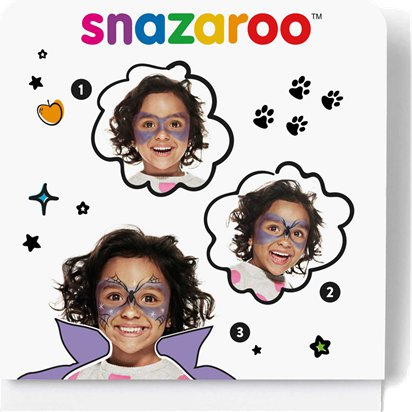 Snazaroo Witch Mini Face Paint Kit - Halloween Witches Face Painting Kit front