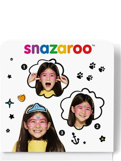 Snazaroo Festival Mask Mini Face Paint Kit
