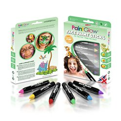 Animal Kingdom Face Paint Stick Kit