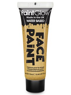 Face Paint Tube - Gold 13ml