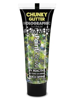 UV Holographic Chunky Glitter Gel - Lucky Lepricorn 13ml