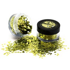 Fancy Dress Accessories Biodegradable Chunky Glitter Shaker - Gold 3g
