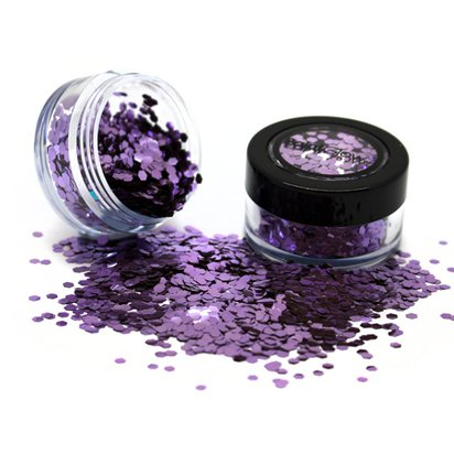Biodegradable Purple Glitter Shaker - 5g - Face Glitter Makeup - Festival Glitter front