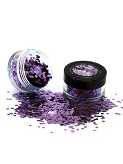 Biodegradable Chunky Glitter Shaker - Purple 3g