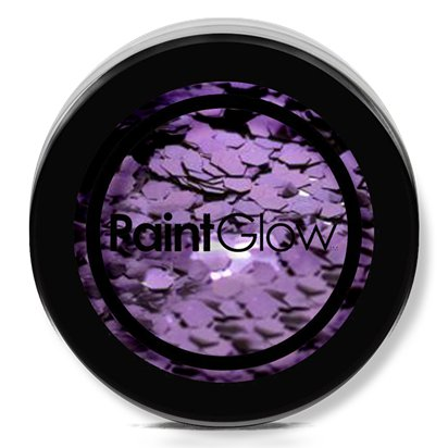 Biodegradable Purple Glitter Shaker - 5g - Face Glitter Makeup - Festival Glitter left