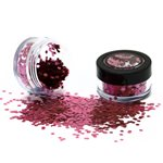 Biodegradable Chunky Glitter Shaker - Rose 3g