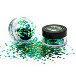 Biodegradable Chunky Glitter Shaker - Green 3g