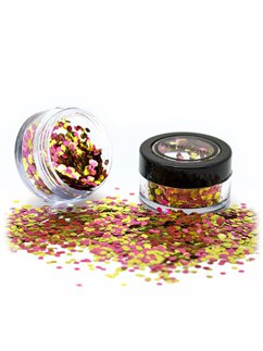 Biodegradable Chunky Glitter Shaker - Rose Gold 3g