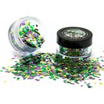 Biodegradable Chunky Glitter Shaker - Rainforest 3g