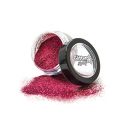 Biodegradable Fine Glitter Shaker - Dark pink 4g