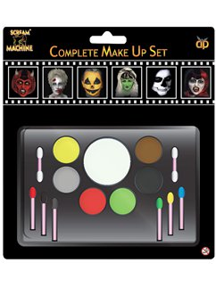 Halloween Family Face Paint Kit
