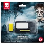 Skeleton Face Paint Kit