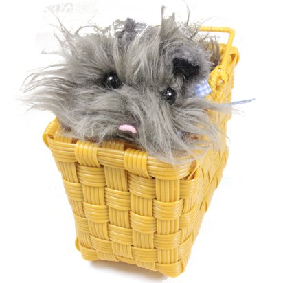 Toto in Basket - Wizard of Oz Fancy Dress Accessories front