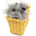 The Wizard of Oz Toto in Basket Fancy Dress