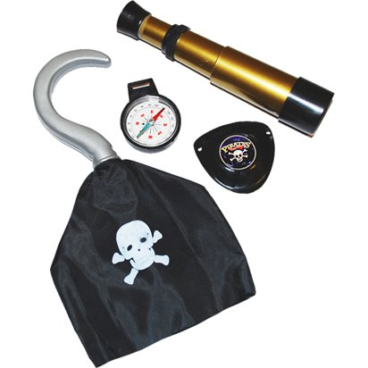 Pirate Adventure Kit  - Pirate Fancy Dress Costume Accessories front