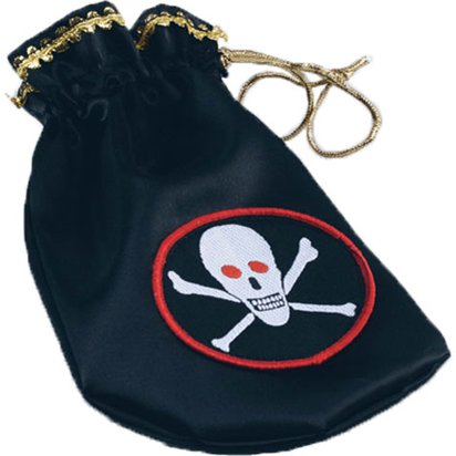 Pirate Pouch  - Pirate Fancy Dress Costume Accessories front