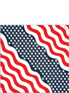 USA American Bandana - 4th July