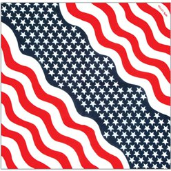 USA American 4th July Bandana