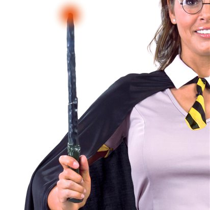 Wizard Wand with Led Lights - Harry Potter Wand & Accessories front