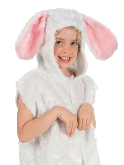 Rabbit Fur Tabard - Child Costume