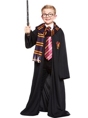 Harry Potter Gryffindor Robe Kit - Child Costume front