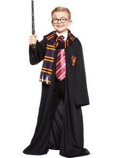 Harry Potter Gryffindor Robe Kit - Child Costume