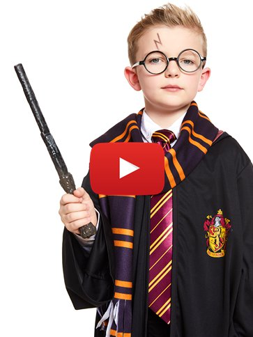 Harry Potter Gryffindor Robe Kit - Child Costume video