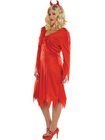 Red Hot Devil Adult Costume Party Delights