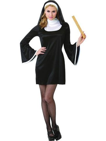 Blessed Babe Nun Adult Costume Party Delights