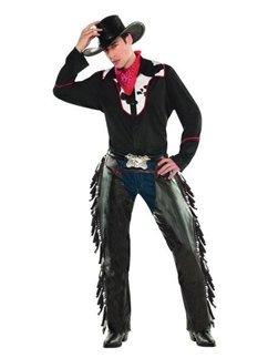 Outlaw Pete Cowboy - Adult Costume