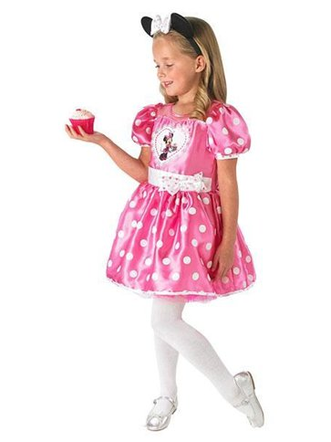 Minnie Mouse Pink Deluxe - Child Costume front