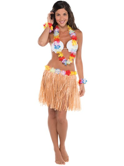 Hawaiian Hula - Adult Costume