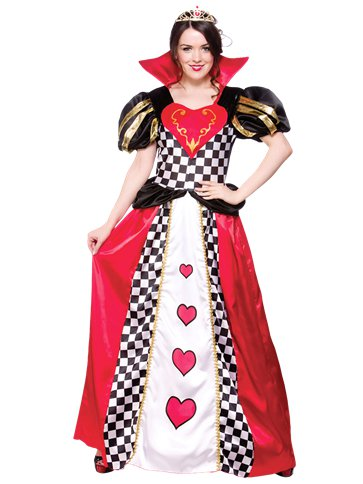 Queen of Hearts - Adult Costume front