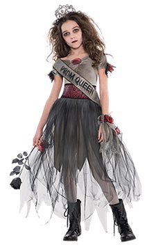 Prombie Queen - Child & Teen Costume