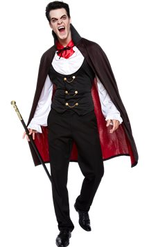 True Vampire - Adult Costume